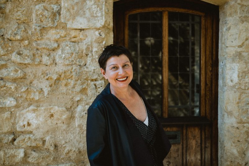 Nathalie the director of the Concierge Helping Hands in the lot and the Dordogne